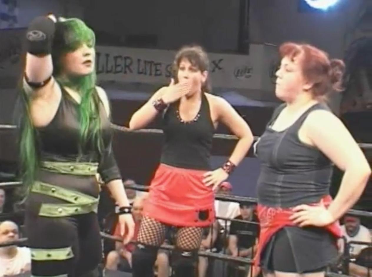 Allison Danger vs. Mickie Knuckles vs. MsChif | ClickWrestle