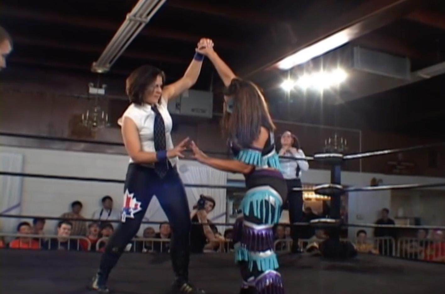 Allison Danger & Leva Bates vs. Mia Yim & Jamilia Craft ...