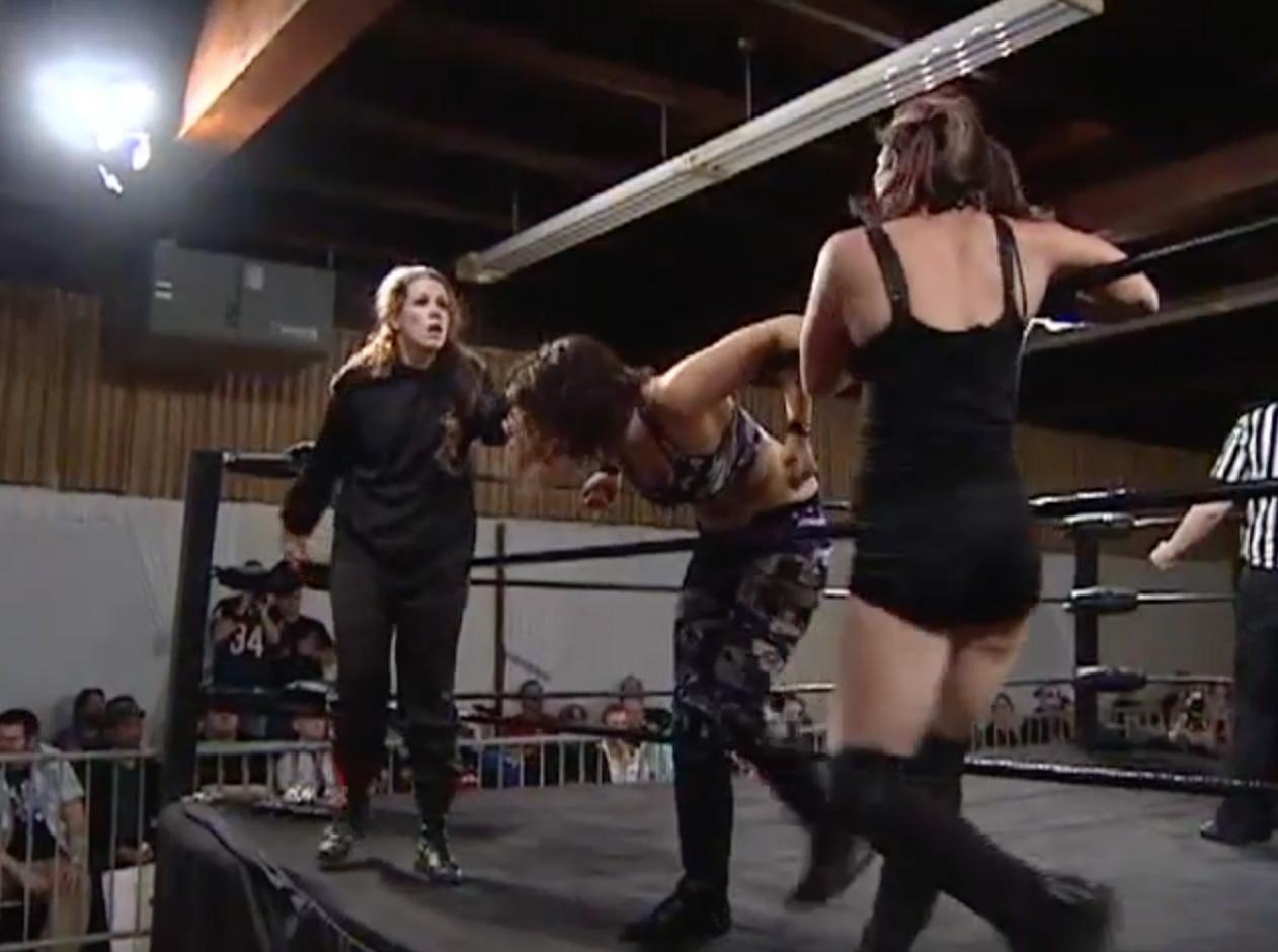 Nicole Matthews & Portia Perez vs. Allison Danger & Leva ...