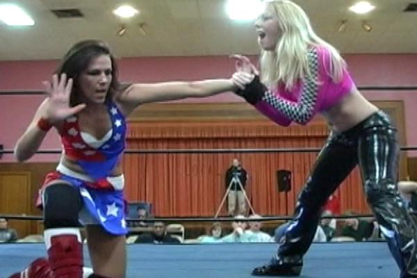 Allison Danger vs. Amber O'Neal | ClickWrestle