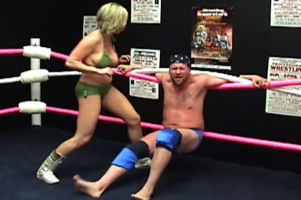 Mixed Wrestling Sex Fight