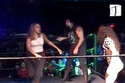 Tai Weed & Ron Zombie vs. Big Poppa Mae & Mercedes Martinez