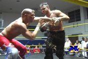 Teddy Hart & Ruckus vs. TJ Wilson & Derek Frazier