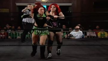 Veda Scott vs. Saraya Knight