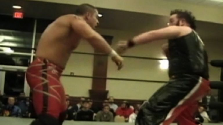 Arik Cannon vs. Davey Richards