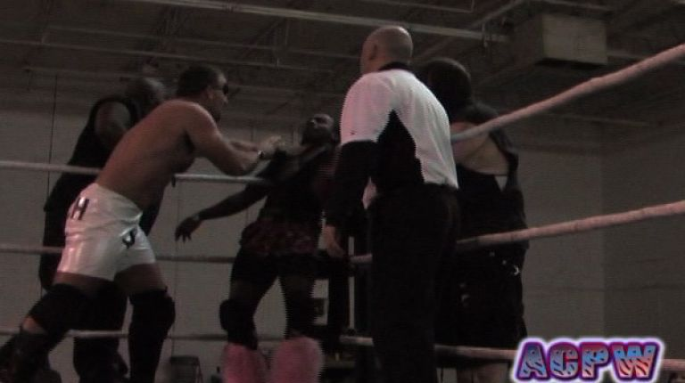 Psycho Erotic and Ron Starr vs. Patch, Gemini, and Korpse