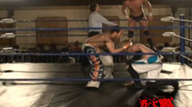 Flip Kendrick & Louis Lyndon vs. The Young Studs
