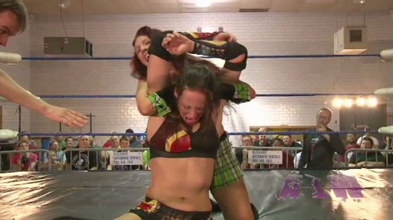 Veda Scott vs. Courtney Rush