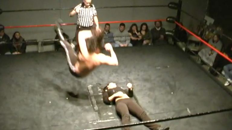 Cheerleader Melissa vs. Jardi Frantz