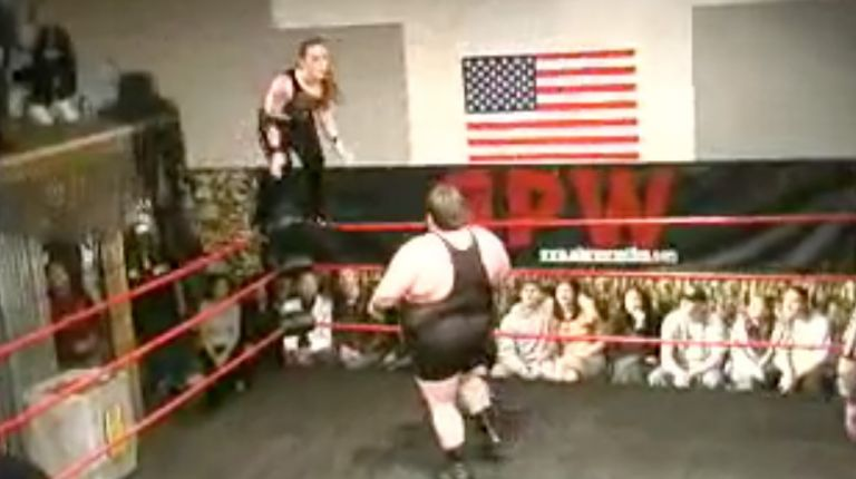 Larry Blackwell & James Watkins vs. Sara Del Rey & Steve Rizzono