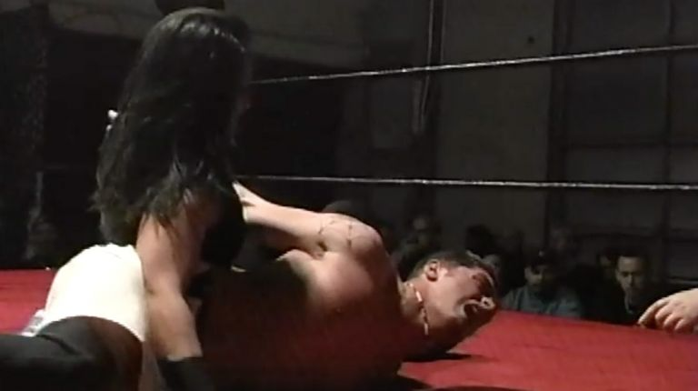 Cheerleader Melissa vs. Lance Chandler