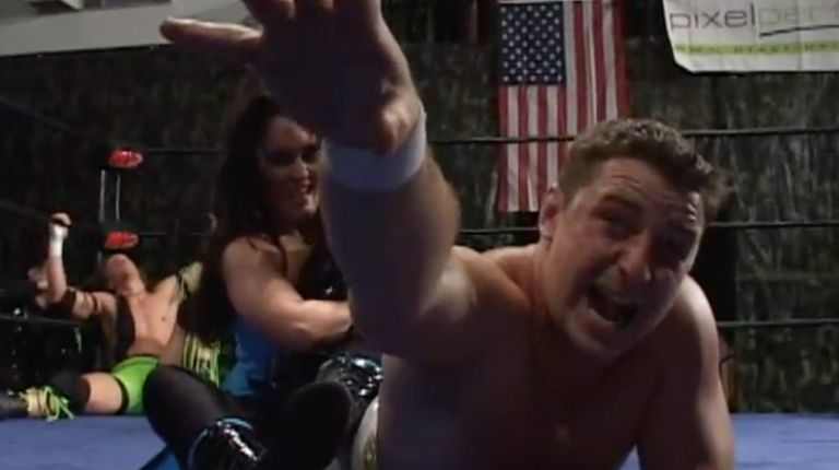 Scotty Aboot vs. AJ Kirsch vs. Cheerleader Melissa