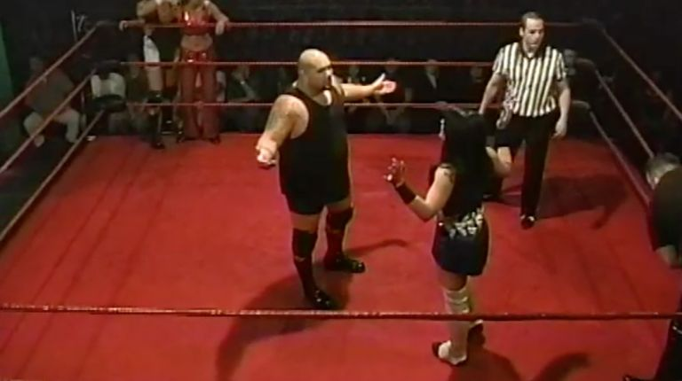 Vennis DeMarco, Big Sal & Tiffany vs. Tommy Angels, Lance Chandler & Cheerleader Melissa