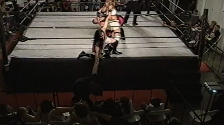 Tiffany & Cheerleader Melissa vs. Billy Blade & Kadin
