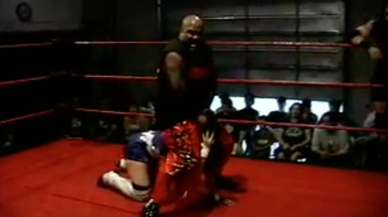 Robert Thompson, James Watkins & Vennis DeMarco vs. Killa J Mathias, Nate Rulez & Cheerleader Melissa