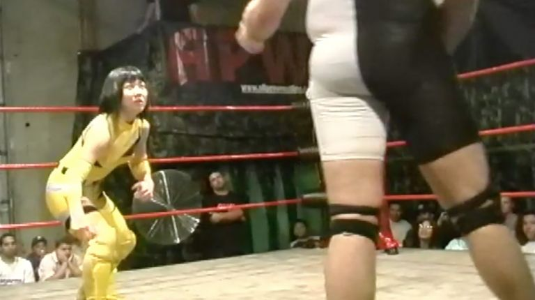 Cheerleader Melissa & Nene Kimura vs. Vennis DeMarco & Tiffany