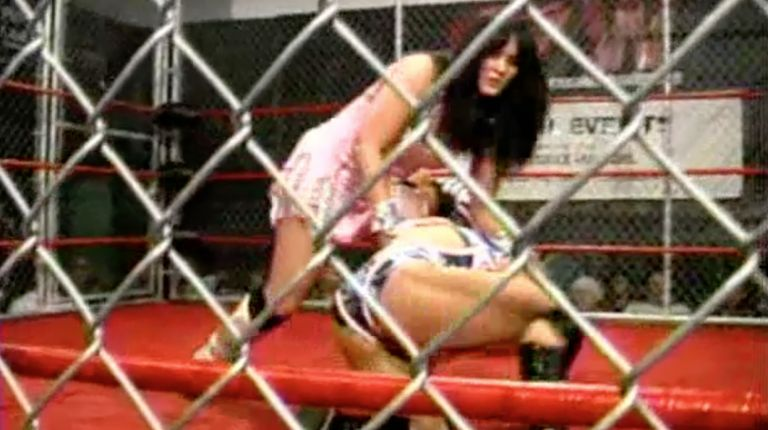 Cheerleader Melissa vs. Princess Sugey