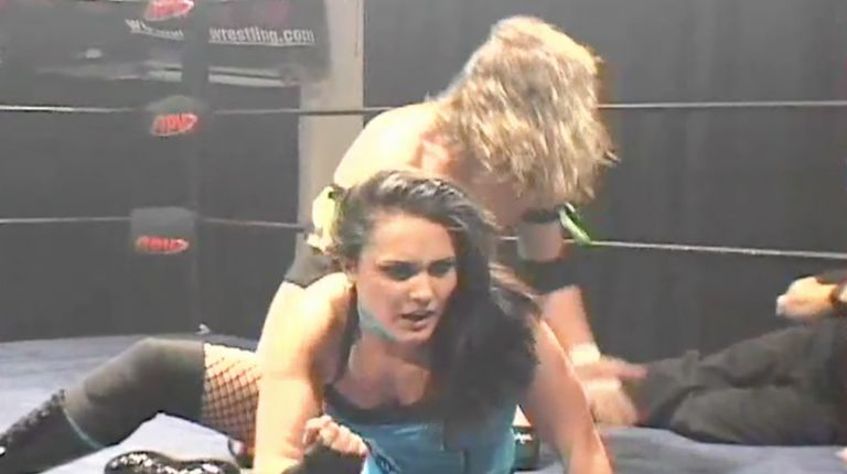 Cheerleader Melissa vs. AJ Kirsch