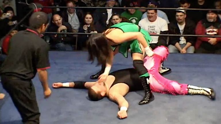 Cheerleader Melissa vs. Rik Luxury