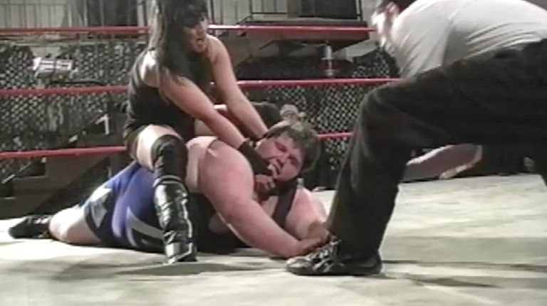 Cheerleader Melissa vs. Larry Blackwell