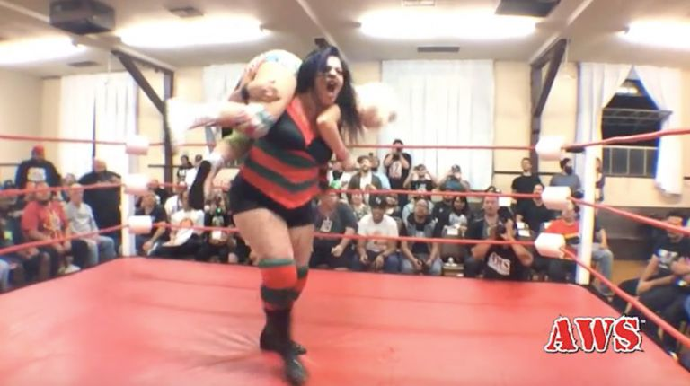 Candice LeRae vs. Ruby Raze