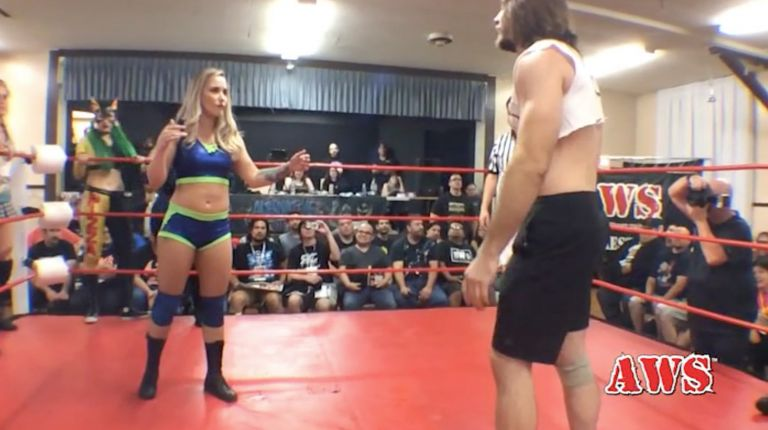 Pizza Cat, Laura James, Kikyo, Heather Monroe & Buggy Nova vs. Chris Kadillak, Mikey O'Shea, Pinky, Ryan Taylor & Mondo Vega