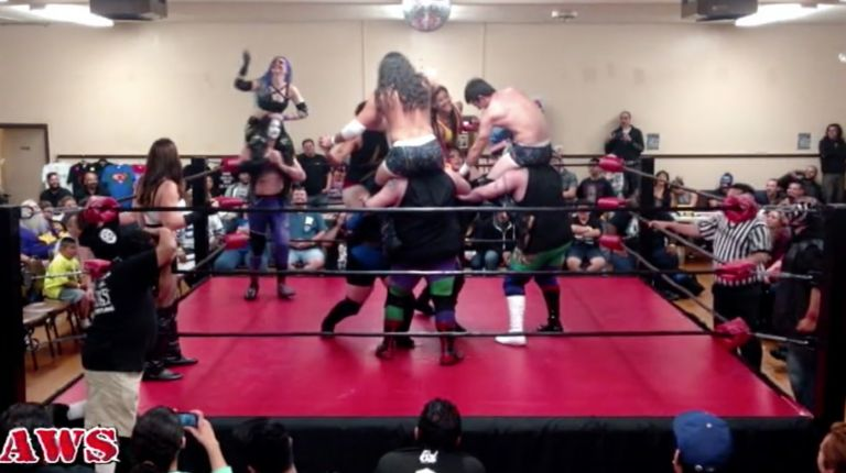 Ten-Person Tag Team Match (Special Referee: Katarina Leigh)