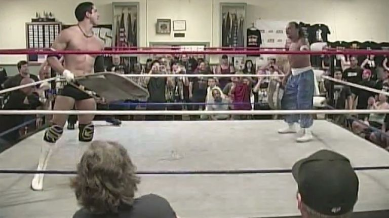 Sabu vs. TJ Perkins