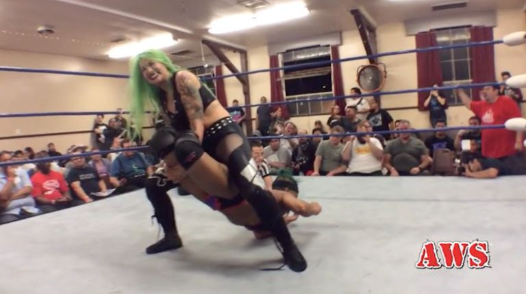 Shotzi Blackheart vs. Aerial Monroe