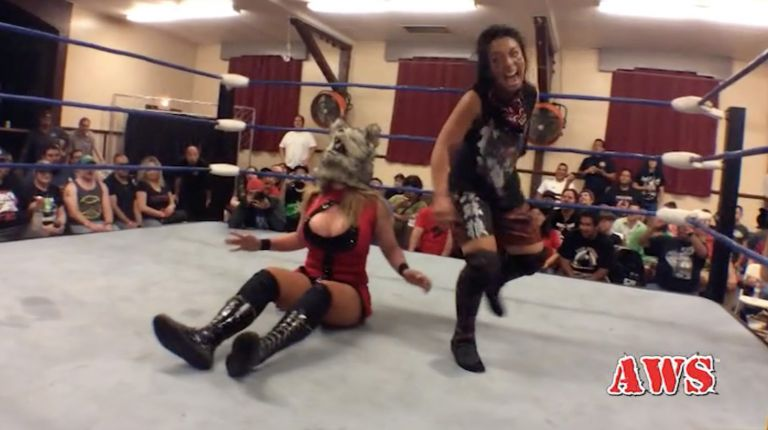 Cheerleader Melissa vs. Kris Wolf