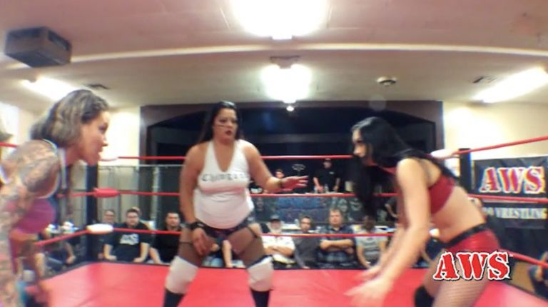 Priscilla Kelly vs. Mercedes Martinez vs. Ruby Raze
