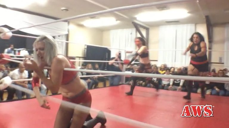 Laura James & Heather Monroe vs. Ruby Raze & Sage Sin
