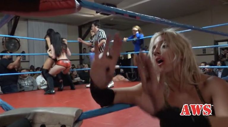Priscilla Kelly, Mercedes Martinez & Cheerleader Melissa vs. Delilah Doom, Deonna Purrazzo & Laurel Van Ness