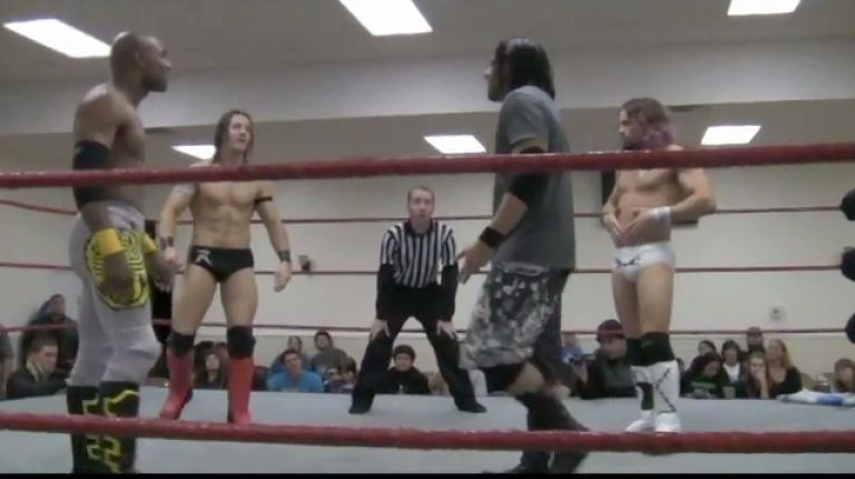Ryan Taylor vs. Johnny Goodtime vs. Scorpio Sky vs. Mondo Vega