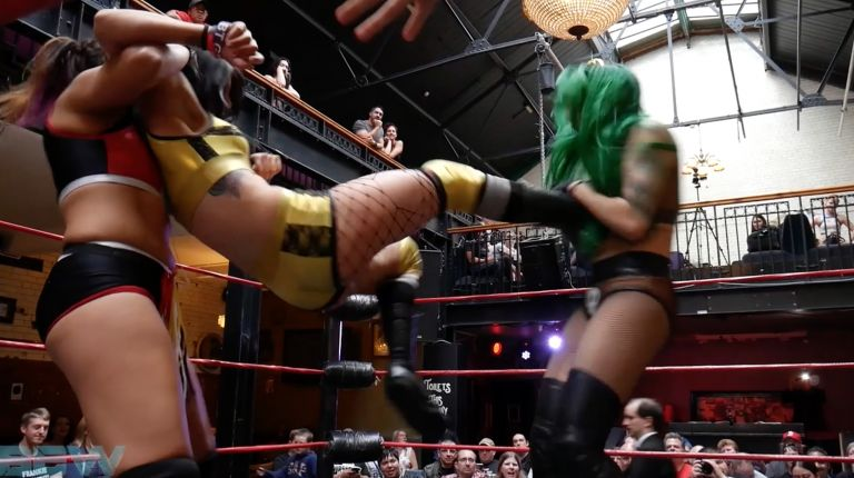 Shotzi Blackheart vs. Kasey Owens vs. Desi Derata