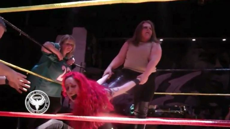 Saraya Knight & Skarlett vs. Destiny & Busty Keegan