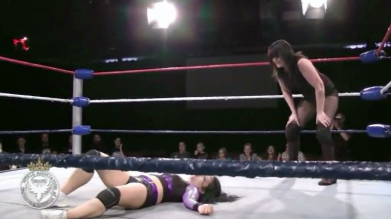 Violet O'Hara vs. Saraya Knight