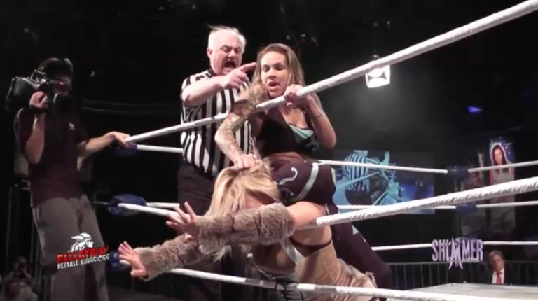 Mercedes Martinez vs. Miss Mina