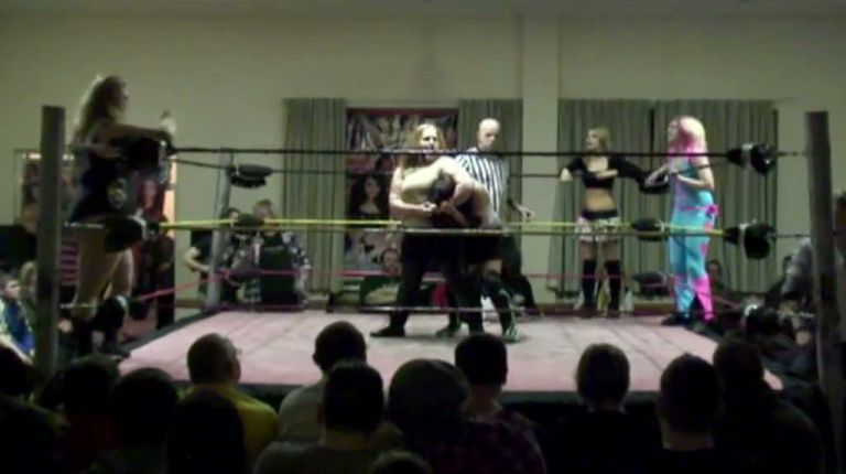 Destiny & Viper vs. Kirsty Love, Violet & Candy