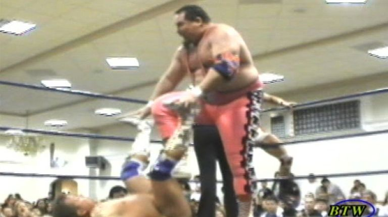 Honky Tonk Man and Jim Neidhart vs. L'Empereur and Shannon Ballard