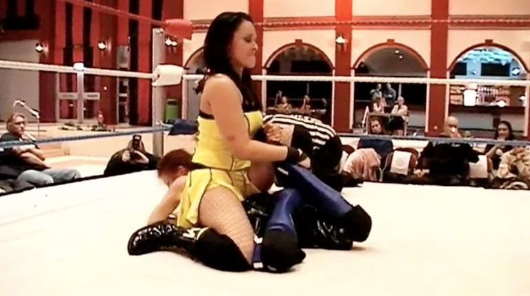 Cheerleader Melissa vs. Eden Black