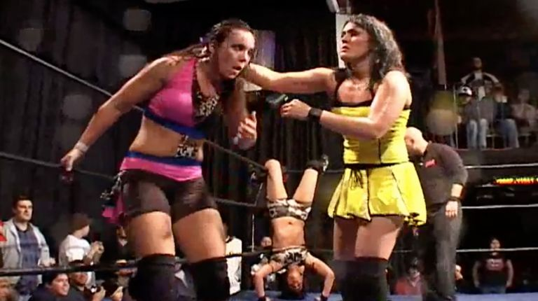 Cheerleader Melissa vs. Sara Del Rey vs. Allison Danger