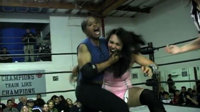 Jacqueline vs. Cheerleader Melissa