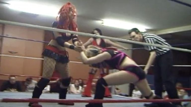 Faith Lehaine vs. Skarlett vs. Chrissy V