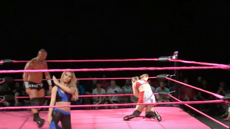 Bambi Hall vs. Gisele Shaw