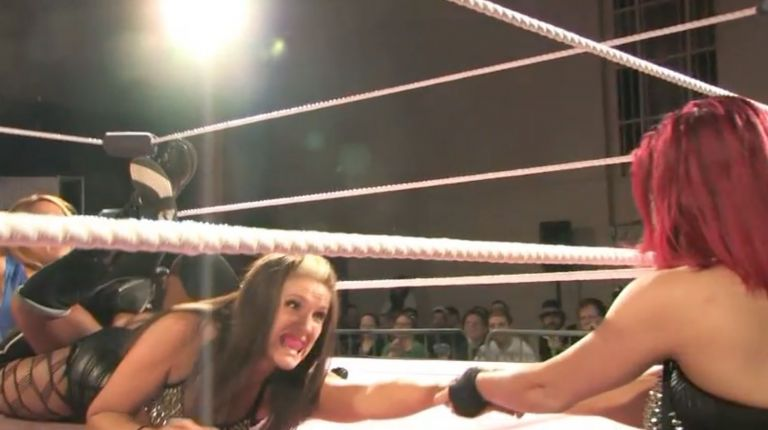 Cheerleader Melissa vs. Allysin Kay