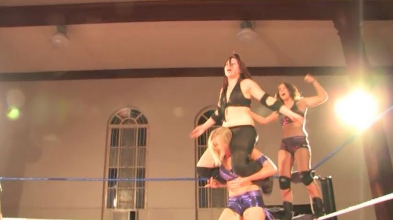 Midianne & Bettie Rage vs. Kaitlin Diamond & Leah Von Dutch