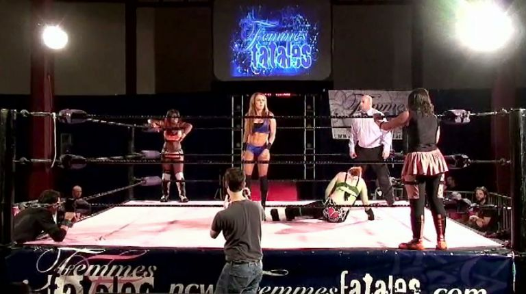 Athena vs. X-Cute Sweet vs. Cheerleader Melissa vs. Angie Skye