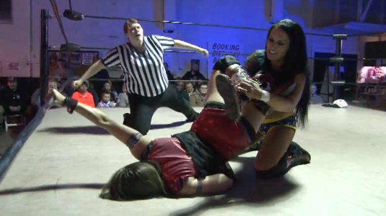 Cheerleader Melissa vs. Crazy Mary Dobson