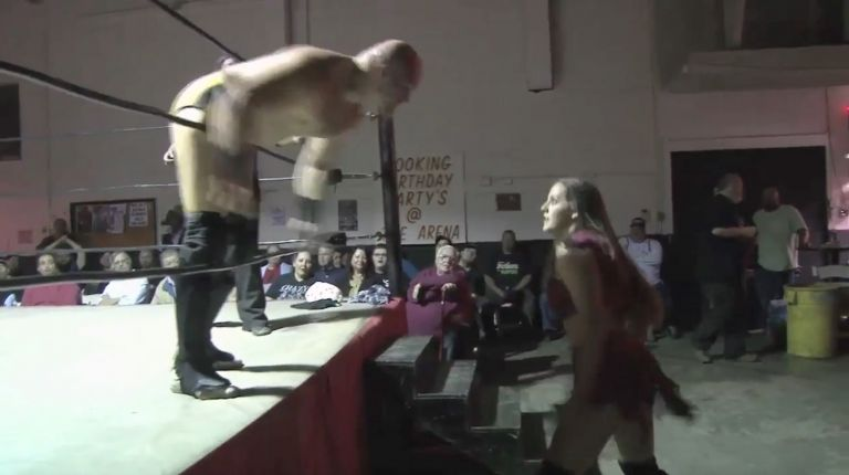 Aaron Williams vs. Crazy Mary Dobson